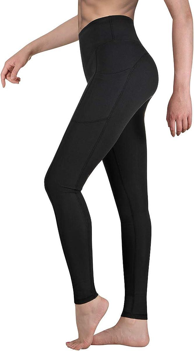 Occffy Leggings Mujer Fitness Cintura Alta Pantalones Deportivos Mallas para Running Training Estiramiento Yoga y Pilates P107