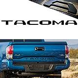 YaaGoo For Tailgate Letter Fit 2014-2018 Toyota TACOMA,Insert Hard Plastic Sticker,Matte Black
