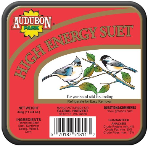 Audubon Park High Energy Suet Cake