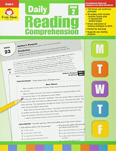 Daily Reading Comprenesion, Grade 2 (Daily Reading Comprehension)