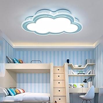 WXBW Lámpara de Mesa-niños luz de Techo Minimalista Nubes ...