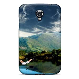 Awesome Cases Covers/galaxy S4 Defender Cases Covers(two-moons-fantasy)