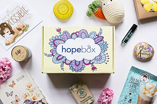 Hopebox - Encouragement Delivered Subscription Box (Hopebox Light - 6 Items