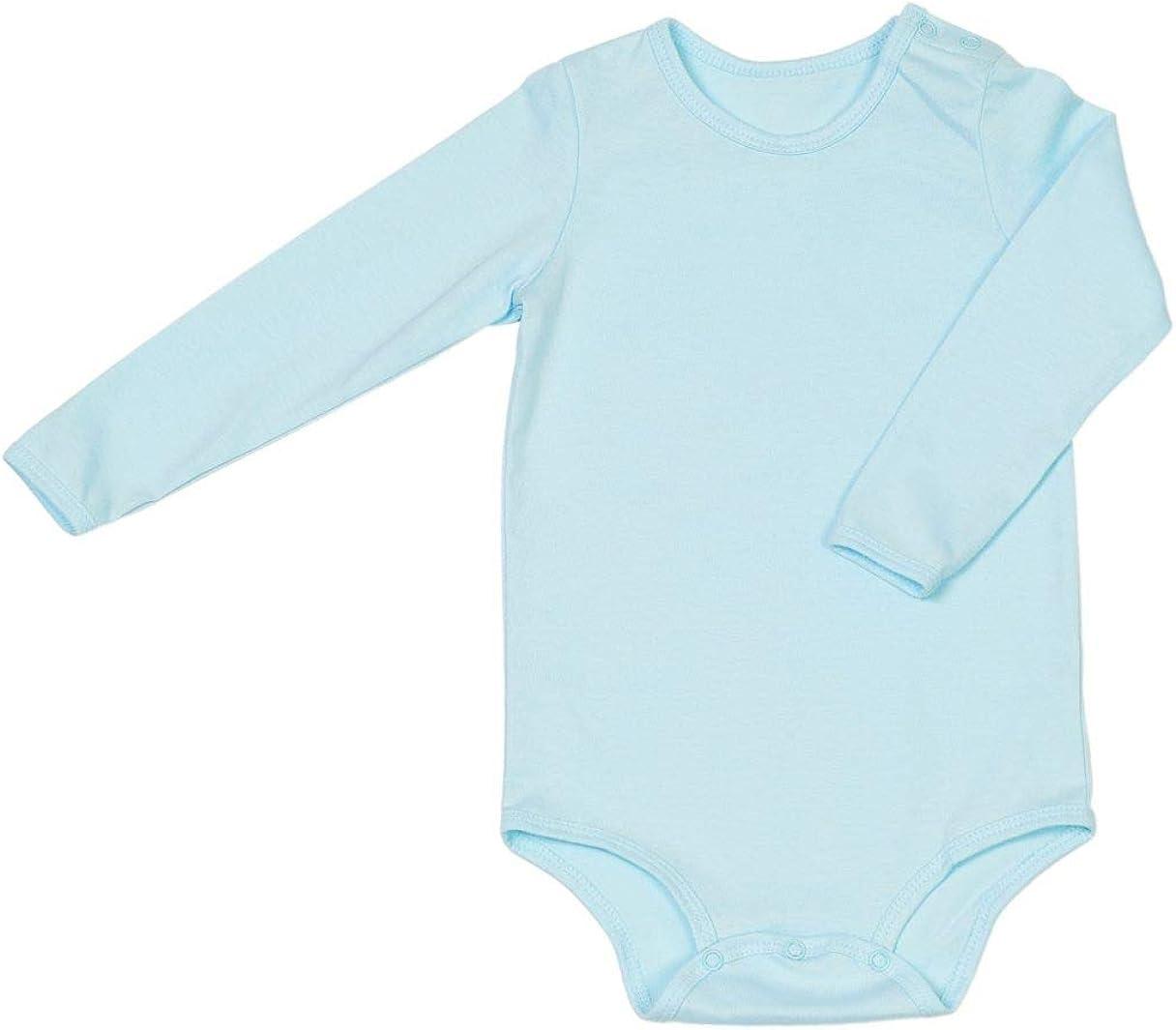 FriendFashion Baby-Body 3er Set Grund-Ausstattung f/ür Babies und Kinder Langarm-Bodys f/ür Kinder und Babys Fair-Trade 100/% GOTS-zertifizierte Bio-Baumwolle