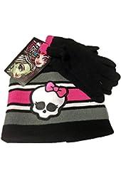 Monster High Knit Cap and Glove Set