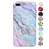 Velvet Caviar Holographic Pink Blue Marble iPhone 8 Plus Case/iPhone 7 Plus Case – Premium Protective Cover – Cute Moonstone Phone Cases for Girls & Women [Drop Test Certified]