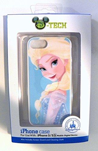 Disney D-tech Frozen Elsa Iphone 5 5s Case WDW Parks Authentic ()