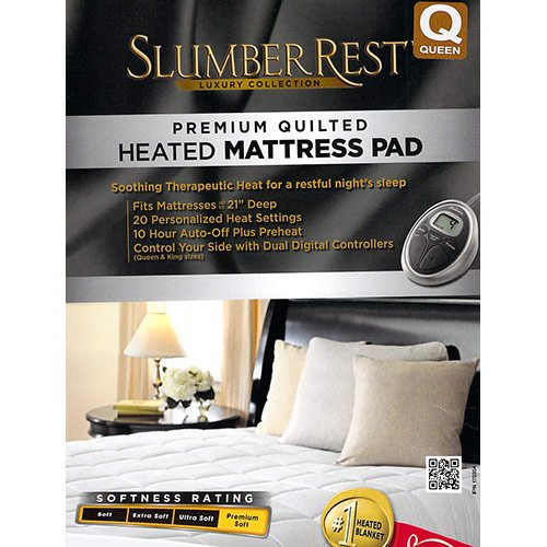 Sunbeam Premium Luxury Quilted Heated Electric Mattress