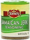 Tone's Mini's Jamaican Jerk Seasoning, 1.00 Ounce (Pack of 6)