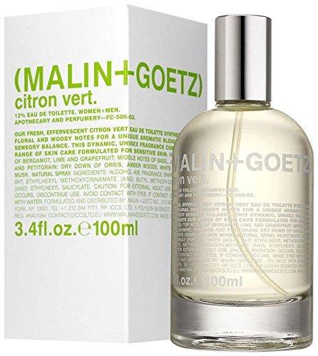 Malin + Goetz Eau de Toilette, Citron Vert, 3.4 Ounce