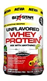 Six Star Pro Nutrition Elite Series Whey Protein Powder, Unflavored, 2lb (Packaging may vary)