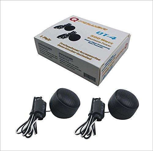 Qpower mini tweeter 500 Watts (one pair) (Mini Tweeter)