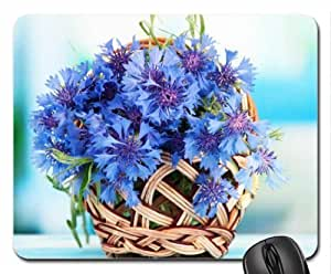 Blue cornflowers Mouse Pad, Mousepad (Flowers Mouse Pad)