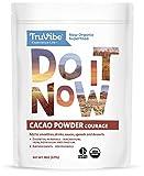 TruVibe 100% Organic Raw Cacao Powder, 8 ounces, Non-GMO Project Verified