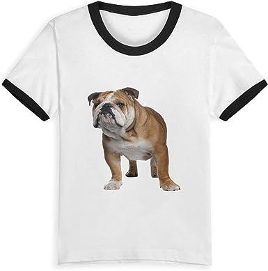 Queen Elena - Camiseta de algodón con diseño de bulldog ...