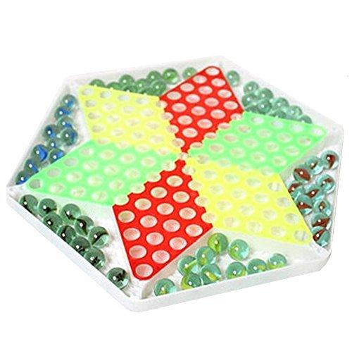 【 Alnair 】 チェッカー 知育玩具 プラスチック ビー玉 ゲーム 【送料無料】 (ビー玉)の商品画像