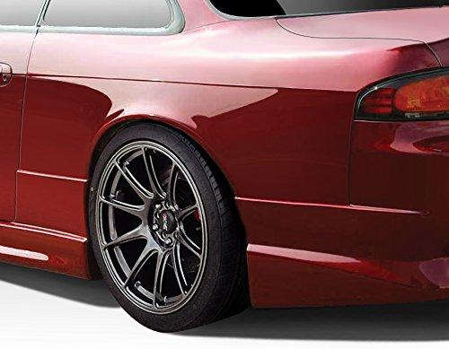 1995-1998 Nissan 240SX Duraflex C-Speed 50mm Rear Fenders - 2 Piece