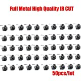 HITSAN 50pcs lotslfull metal m12 ir cut filter icr with m12 lens mount holder dual filters switch vivid images for hd cameras