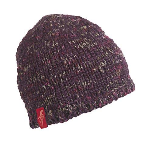 FU-R Headwear - Women's Toss with Pasta, Fleece Lined Hand Knit Beanie, (Fur Headwear)
