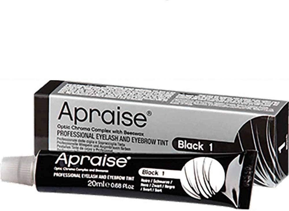 APRAISE PROFESSIONAL EYELASH & EYEBROW - TINT No.1 BLACK 20ml