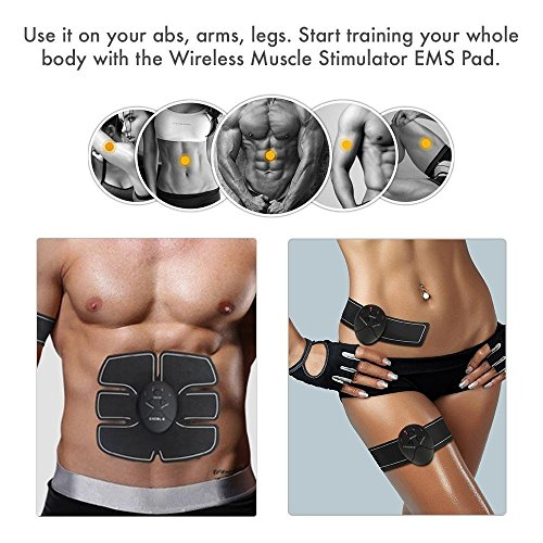 Abs Stimulator Abdominal Muscle Toner, Ultimate Abs ...