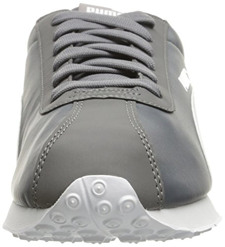 Puma Mens Turin Nl Fashion Sneaker Acciaio Grigio-puma Bianco