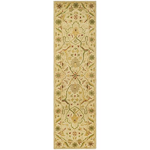 Safavieh Antiquities Collection AT14A Handmade Traditional Oriental Ivory Wool Runner (2'3