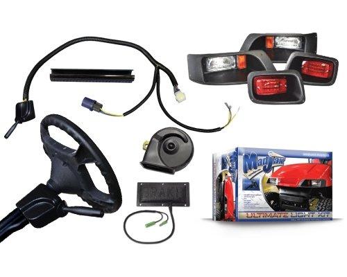 - Madjax Golf Cart Ultimate Light Kit Will fit E-Z-Go TXT 1995-2013 Golf Carts