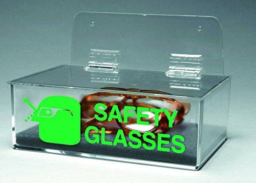 Brady 262-2011L Prinzing Safety Glass Holder W-Lid