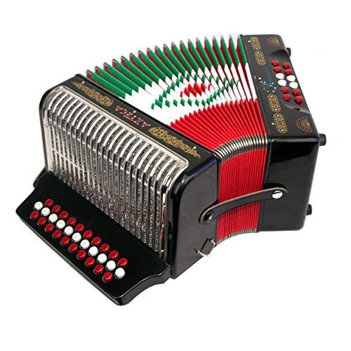 Rossetti Azteca 3112 31 Button 12 Bass Accordion GCF SOL ...