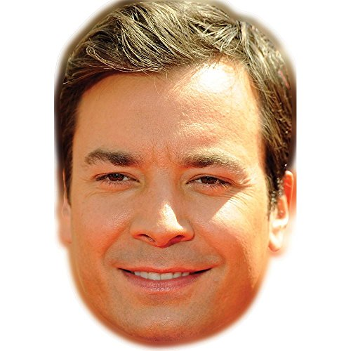 Jimmy Fallon Celebrity Mask, Card Face and Fancy Dress Mask
