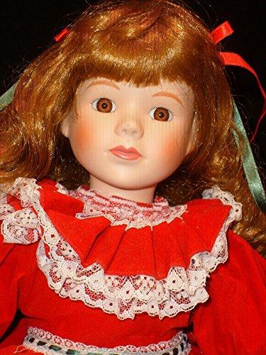 - 1992 Collectible Princess House Christina Porcelain Doll