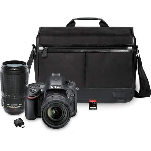 nikon-d610-243-mp-cmos-fx-format-digital-slr-camera-bundle-with-24-85mm-and-70-300mm-nikkor-vr-af-s-