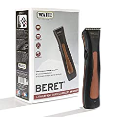 From Wahl Professional's commercial grade line of products, the Beret Lithium Ion Cord/Cordless Trimmer is intended for professional use only and is designed to deliver the sharp performance that experts demand with the freedom of a cordless ...