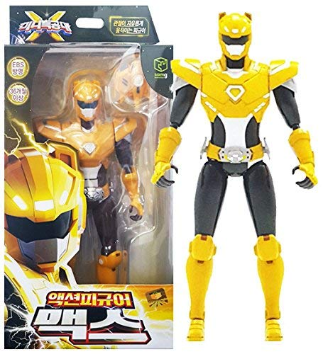 "MINI FORCE 2018 New Version Miniforce X Max Korean Robot Action Figure Yellow 6.9"" Joints Move"