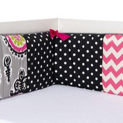 Glenna Jean Velvet Crib Skirt (Glenna Jean Pippin Bumper)