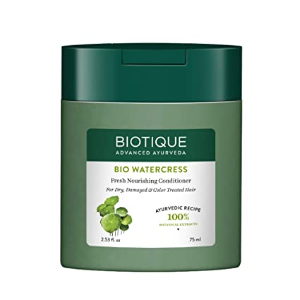 Biotique Bio Watercress Fresh Nourishing Conditioner, 75ml