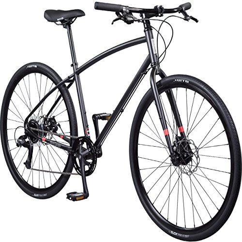 Pure Cycles 8-Speed Urban Commuter Bicycle, 54cm/Medium, Wright Black