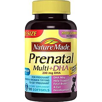Nature Made Prenatal + DHA 200 mg Softgels, 90ct