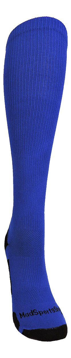 MadSportsStuff Royal/White Player Id Over The Calf Number Socks (#47, Large) by MadSportsStuff (Image #2)
