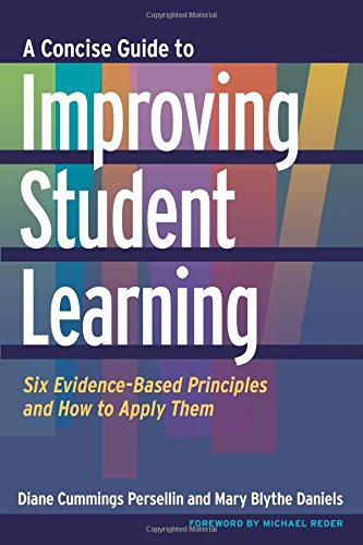- A Concise Guide to Improving Student Learning: Six Evidence-Based Principles and How to Apply Them (Higher Eduction: Teaching & Learning)