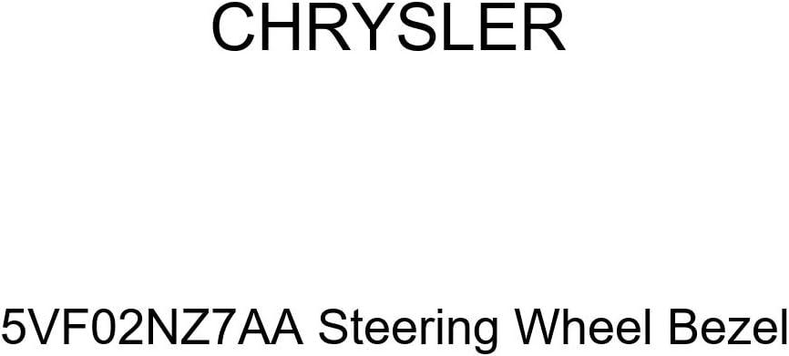 Genuine Chrysler 5VF02NZ7AA Steering Wheel Bezel