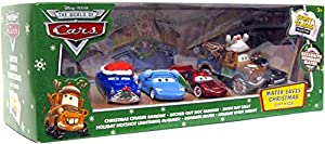 Amazon.com: The World of Cars Mater Saves Christmas Gift Pack with ...