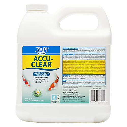 API POND ACCU-CLEAR Pond Water Clarifier 64-Ounce Bottle