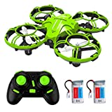 Mini Drones for Kids and Adults, EACHINE E016H 2.4Ghz 6-Axis RC Nano Quadcopter with Altitude Hold Function for Beginner, 3D Flips,Headless Mode and Extra Batteries Easy to Fly