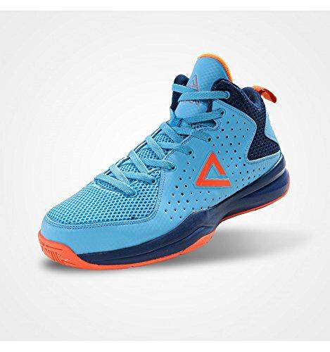 Peak - Thunder gold blau - Basketballschuhe blau