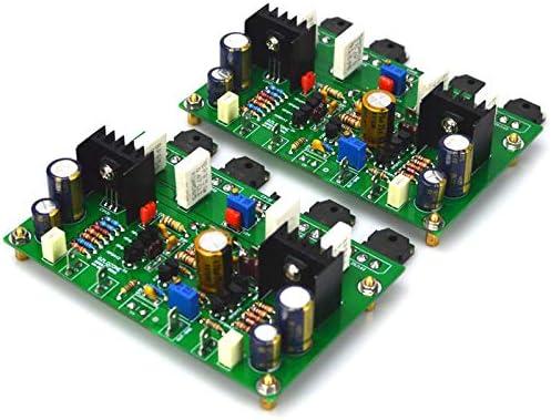 1ペアHM3S 2SK1058-2SJ162クラスAB電力増幅器完成ボード120 w