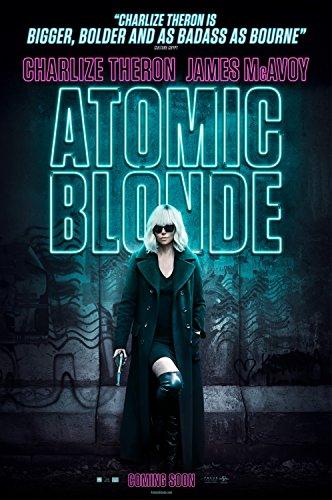 Atomic Blonde 2017 Movie Poster Matte Style