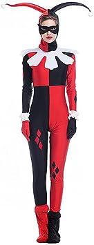 Hallowmax Disfraz de Halloween sobre el Payaso para la Mujer ...