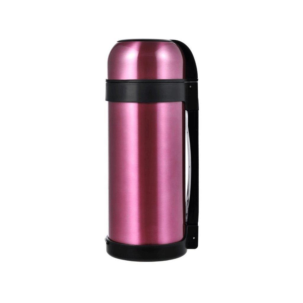 保温ポット 304ステンレススチール製温水ボトル熱容量大容量屋外用断熱ポットウォームポットケトル断熱カップ1.5L UOMUN ( 色 : ピンク ぴんく ) B07B2LCY6Z ピンク ぴんく ピンク ぴんく